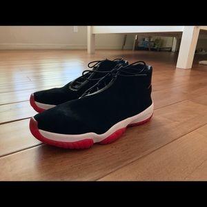Nike Air Jordan Future 'Bred' Suede Size 9.5 New!